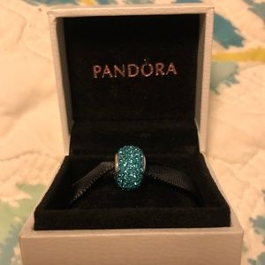 Blue Jeweled Charm from Kay - fits on Pandora